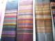 ผ้าไหมลายริ้ว ทอ 4 เส้น